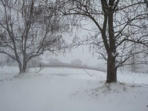Сербия зимой фото