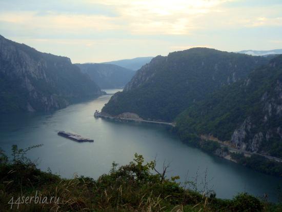 Дунайское ущелье (Джердапская клиссура), Сербия