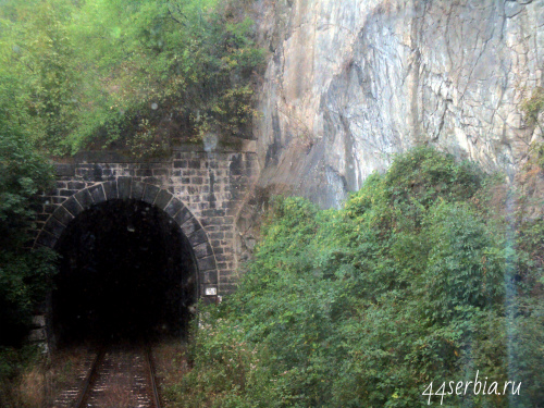 Восточная Сербия туннель