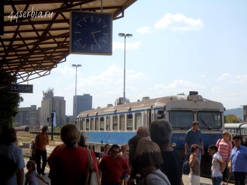 Железная дорога в Сербии