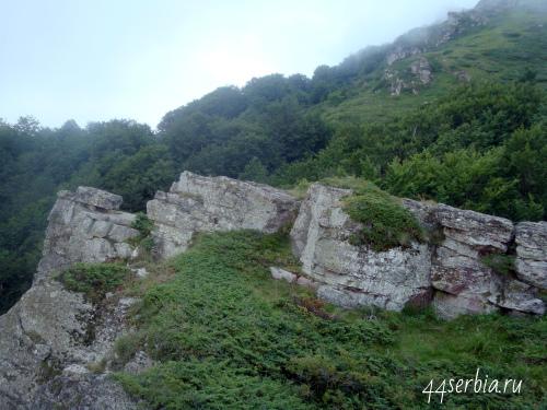 Горы в Сербии