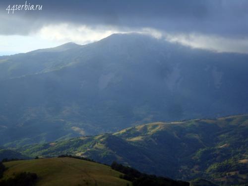 Сербия горы