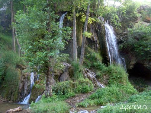 Водопад Бигар Сербия