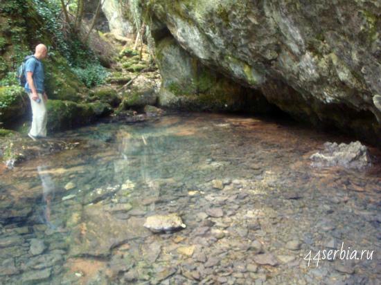 Извор реки Чёрный Тимок