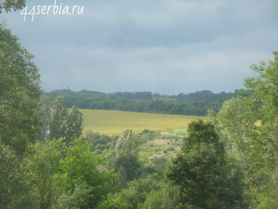 Пейзаж Сербия