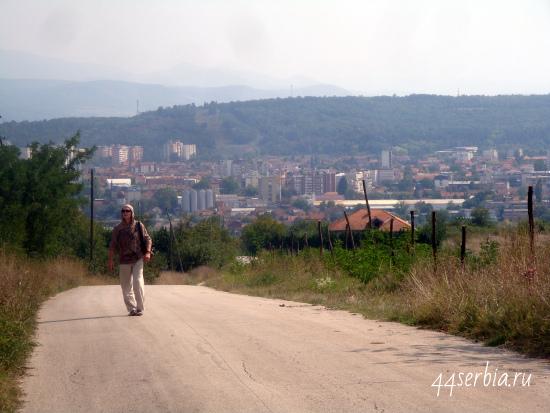 Вид на город Заечар