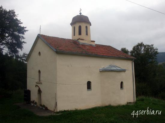 Церковь Св.Онуфрия в Сербии