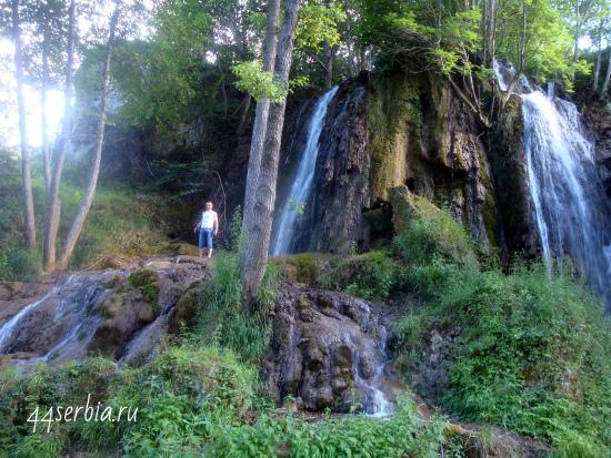 Возле водопада Бигар
