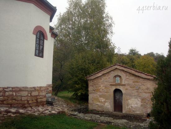 Йошаница, церковь с фресками 12 века