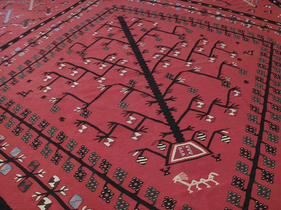 Дерево жизни на пиротском ковре