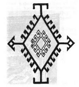 Гуштер орнамент