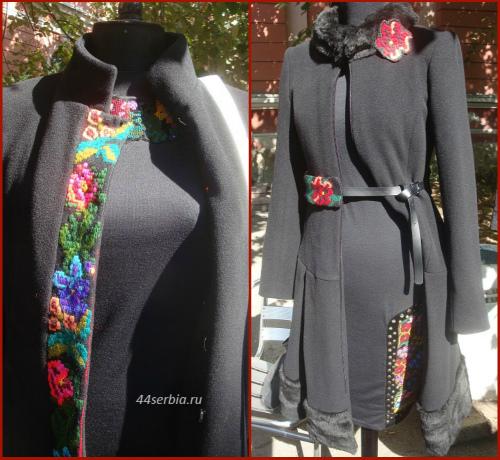 Сербская вышивка в современной одежде