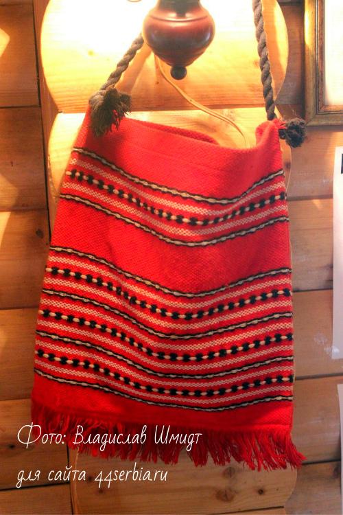 Сербская сумка с орнаментом