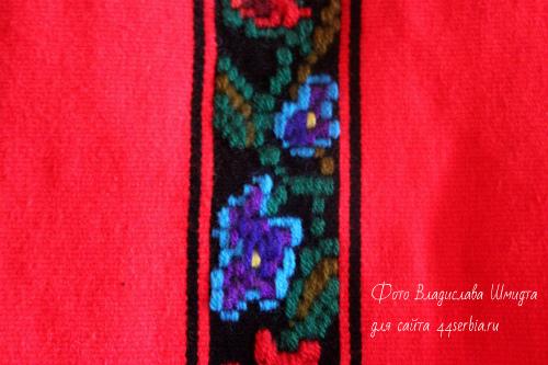 Сербская вышивка цветы
