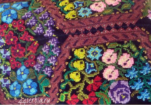 Сербские орнаменты и узоры вышивка