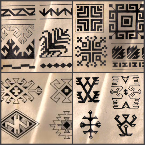 Сербские орнаменты в рисунках