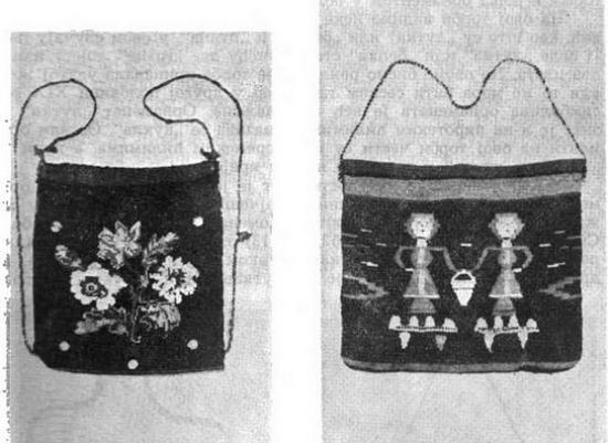Сербские сумки с вышивкой