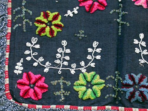 Сербский узор в вышивке
