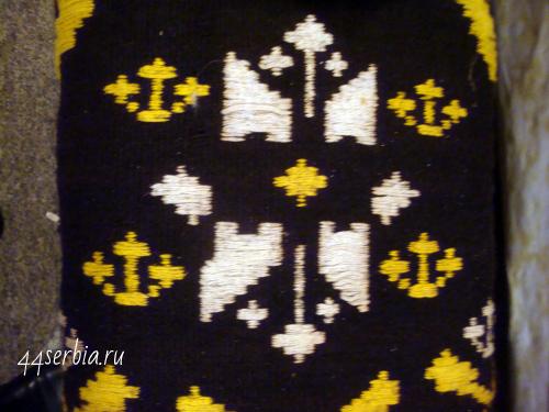Сербский узор на коврике-простирке