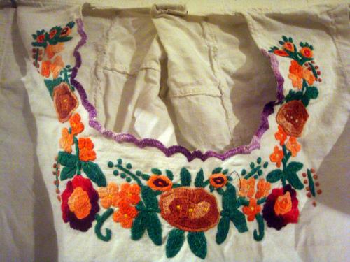 Старая сербская вышивка узор