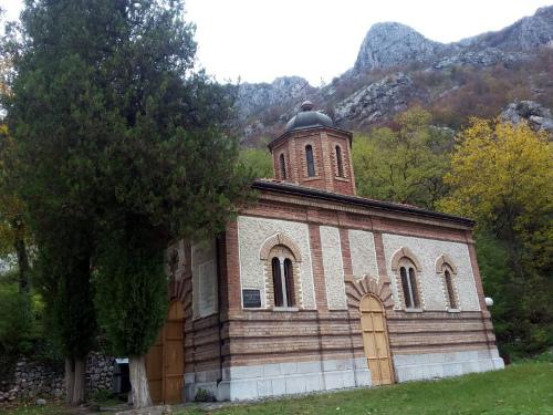 Монастырь Святой Петки Иверица в островице, Сербия