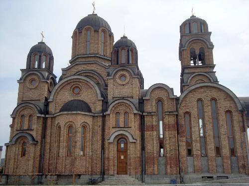 Новая церковь в городе Заечар