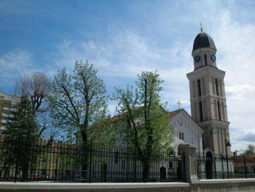 Церковь в городе Заечар