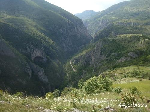 Ущелье Сербия