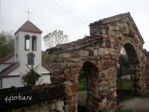 Йошаница, сельская церковь