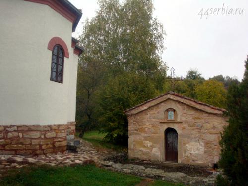Йошаница старая церковь с фресковой росписью