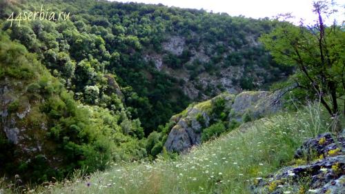Каньоны Сербии