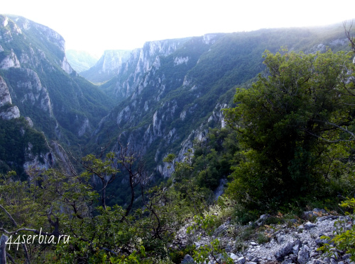 Лазарев каньон большой Видиковац