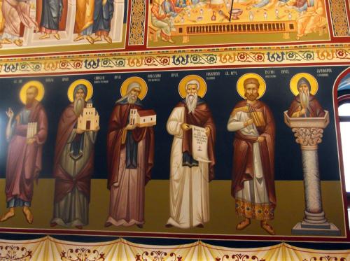 Фрески_монастыря_Вратна_Сербия
