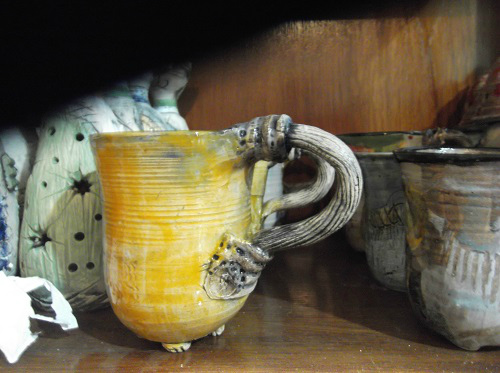 Чашка керамика Сербия
