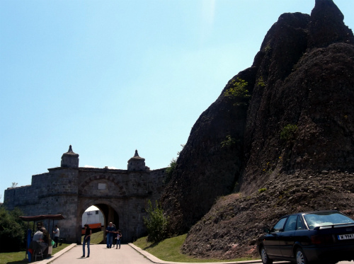 Белоградчик крепость Калето вход