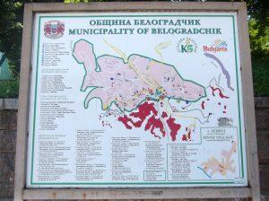 Белоградчик схема карта