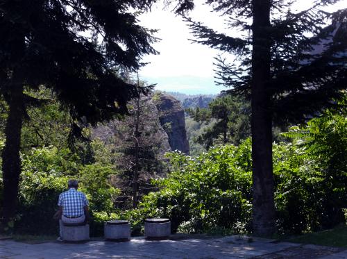 Белоградчик вид на скалы в центре