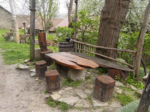 Этно место для дегустации вина в Сербии