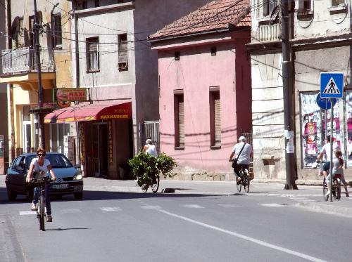 Велосипедная жизнь в городе