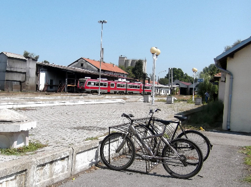 Велосипед и поезд 1