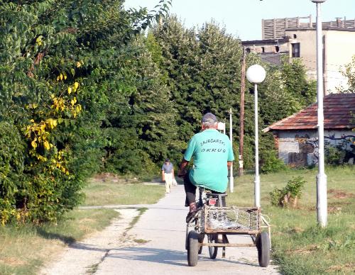 Велотележка