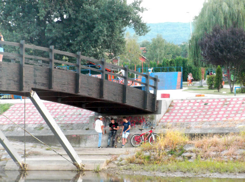 Место встречи и велосипед