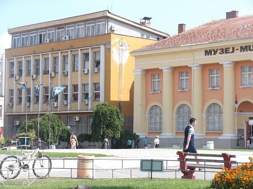 Городской музей и велосипед