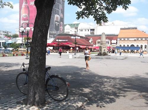 Центральная площадь Заечара