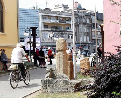 На велосипеде мимо римских артефактов