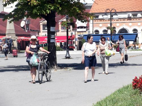 Дама с велосипедом