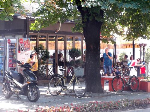 Велотолкучка в центре