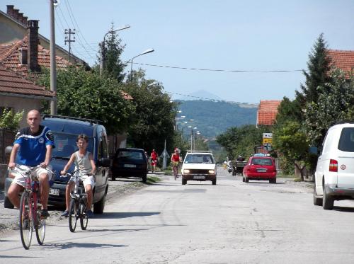 Велосипеды и машины
