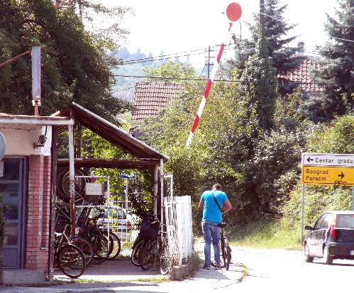 Велогараж работников хлебозавода