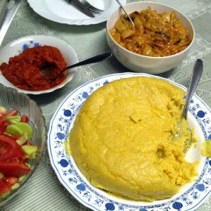 Сербия постный ужин